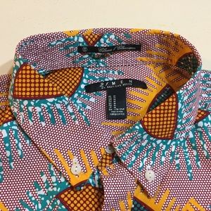 Forever 21 Shirts - Forever 21 Men classic fit tribal print shirt 👕